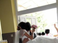 sprzedam cudną koronkową suknię ślubną r 38 - 699zł