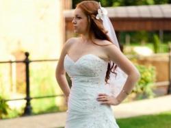 Sprzedam cudną suknię ślubną Maggie Sottero - model Jovi