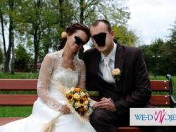 Sprzedam cudowną suknię ślubną