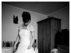 Sprzedam cudowną suknie ślubną rozm: 36/38