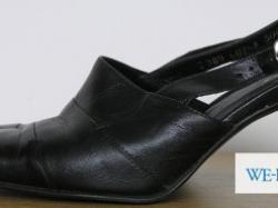 Sprzedam czarne skórzane buty firmy SBut