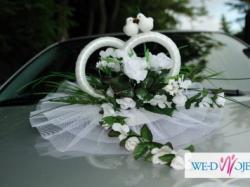 sprzedam dekorację ślubną na samochód