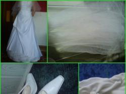 Sprzedam dodatki do sukni slubnej