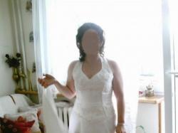 Sprzedam  dwu częściową suknię ślubną