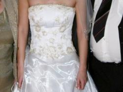Sprzedam dwuczęściową suknię ślubną