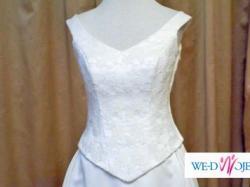 Sprzedam dziesiątki dodatków do sukni ślubnej - welony, stroiki, biżuteria, buty