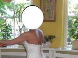 Sprzedam efektowną  i oryginalną sukienkę ślubną