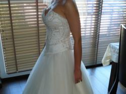 Sprzedam ekskluzywną suknię ślubną z sezonu 2010
