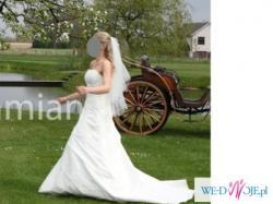 Sprzedam elegancką i dziewczęcą suknię ślubną