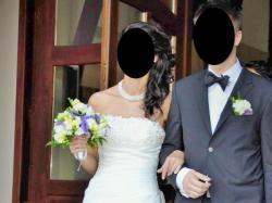 Sprzedam elegancką, piękną suknie ślubną Tia Benjamin Roberts
