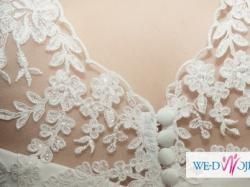 SPRZEDAM - Elegancką suknię ślubną