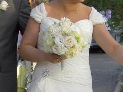 Sprzedam elegancka suknie ślubną