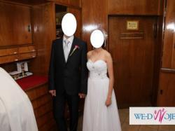 Sprzedam elegancką suknię ślubną model Emmi Mariage