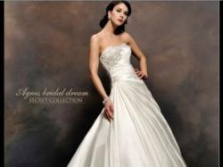 Sprzedam: elegenacką, satynową suknię AGNES 2012 (model 10341) 34-36