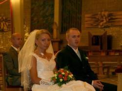 sprzedam fajną suknię ślubną