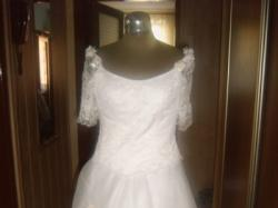 Sprzedam gorset+spódnica ślubna