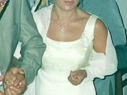 sprzedam grecką suknię ślubną w kolorze ecru 38