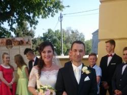 Sprzedam hiszpańską suknię ślubną firmy Arie Barcelona