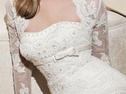 Sprzedam hiszpańską, zmysłową suknię ślubną White One 427