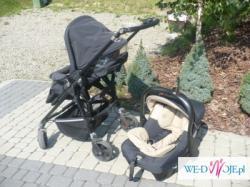 sprzedam hiszpański wózek dziecięcy Jane Carrera Aniversario 3 w 1