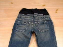 sprzedam jeansy ciązowe za kolano
