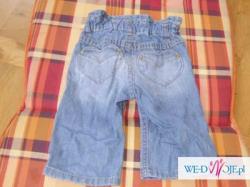 sprzedam jeansy H&M 68 cm