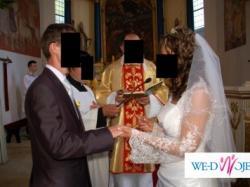 Sprzedam jednoczęściowa suknię ślubną