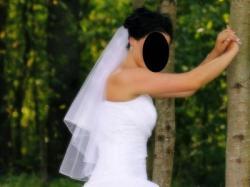 """Sprzedam jednoczęściową Suknię Ślubną """"Aurelia """"roz. 38"""