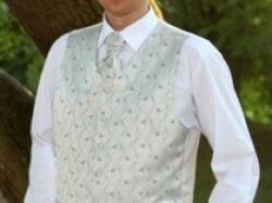Sprzedam kamizelka+musznik+butonierka+koszula+spinki