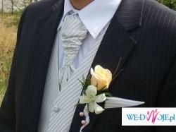Sprzedam kamizelke ślubna + musznik i wypustnik firmy NEW MEN !!!