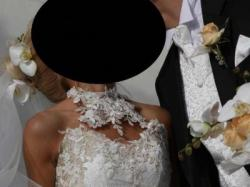 Sprzedam kamizelkę ślubną z musznikiem!!!
