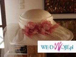 sprzedam kapelusz ślubny