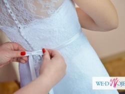 Sprzedam koronkową suknie ślubną marki Nabla