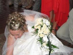 Sprzedam koronkową suknię ślubną - Toruń