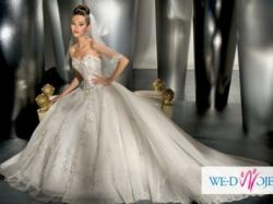 sprzedam królewską suknię ślubną