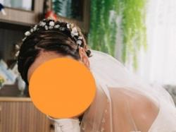 Sprzedam kryształkową suknię ślubną