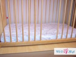 Sprzedam łóżeczko z materacem
