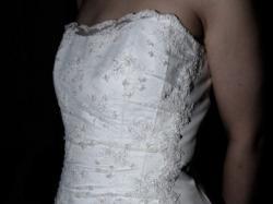 Sprzedam niedrogo suknię ślubną