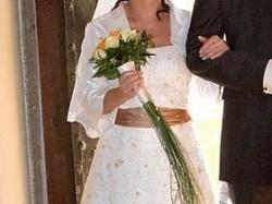 SPRZEDAM niepowtarzalną, piękną  sukienkę ślubną