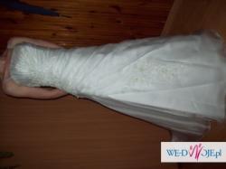 Sprzedam niepowtarzalną suknię ślubną MS Moda