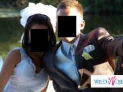Sprzedam niepowtarzalną suknie ślubną!!!! najnowszy trend + welon (opcja) !