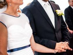 Sprzedam nietypową suknię ślubną z akcentem morskim