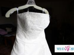 Sprzedam NOWĄ, amerykańską suknię ślubną plus pokrowiec
