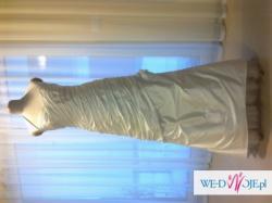 Sprzedam nową, nie używaną suknię ślubną z szantunku jedwabnego