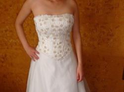 Sprzedam nową suknię ślubną Vanessa, rozmiar 36/38