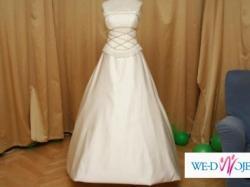 Sprzedam NOWĄ suknię śluną za 1/3 ceny sklepowej, dodatki GRATIS