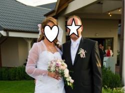 Sprzedam oryginalną suknie ślubną !