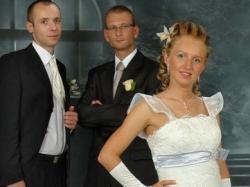 Sprzedam oryginalną suknię ślubną.