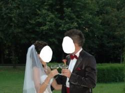 Sprzedam oryginalny garnitur ślubny