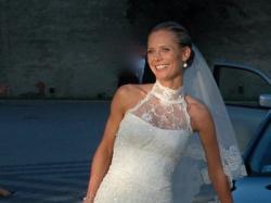 Sprzedam oszałamiającą hiszpańską suknie ślubną